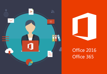 Office 2016 - Office 365<br /> Try out the ENI e-learning courses for free