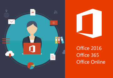 Office 2016, Office 365 et Office Online<br /> Nouvelles e-formations disponibles